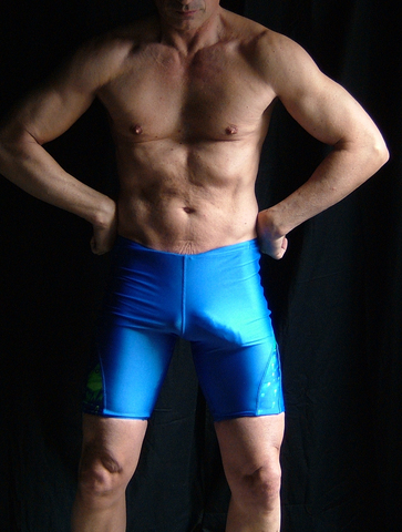 boy lycra bulge
