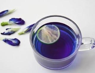 Пурпурный чай Чанг-Шу из цветов гор