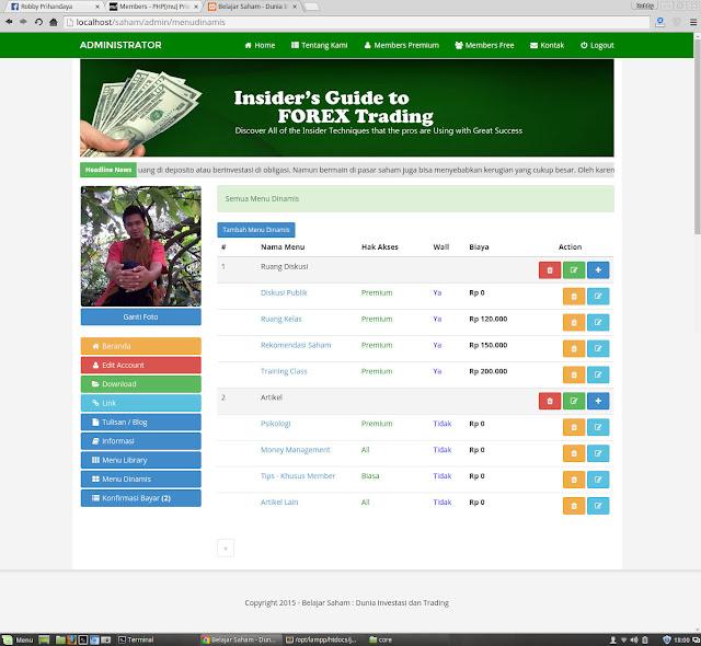 Download Gratis Aplikasi Komunitas (Jejaring Sosial) Belajar Trading Forex V.1