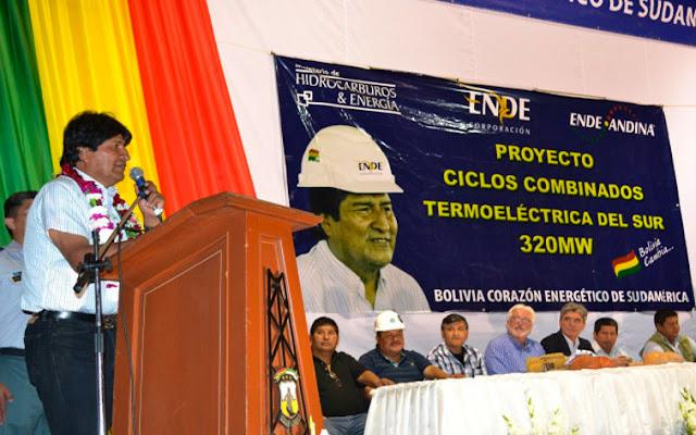 PDVSA financia la expansión del sistema eléctrico..... de Bolivia