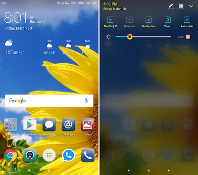 Downloa Huawei Theme : Yellow Flowers Theme For EMUI 5.0