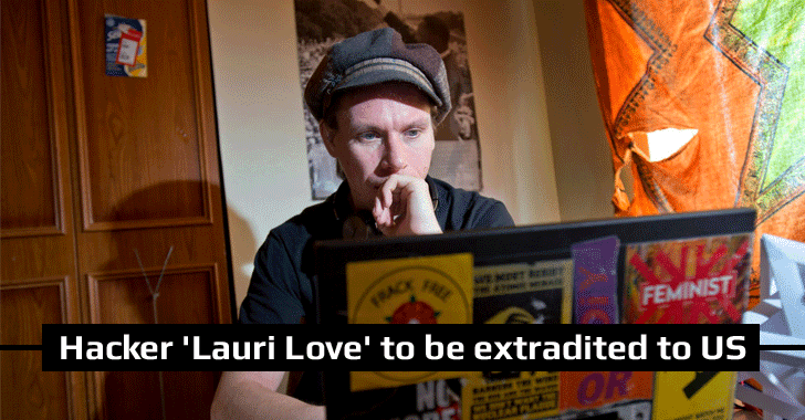 British Court rules Hacktivist 'Lauri Love' can be extradited to USA