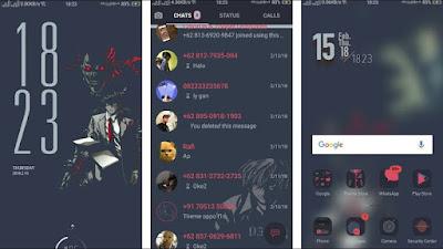 Theme Kakek Agung / Death Note Theme for Oppo