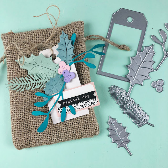A DIY gift bag for Sizzix Lifestyle
