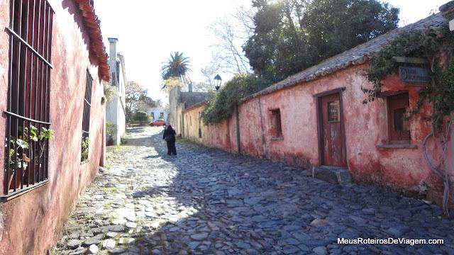 Calle de los Suspiros - Colonia del Sacramento, Uruguai