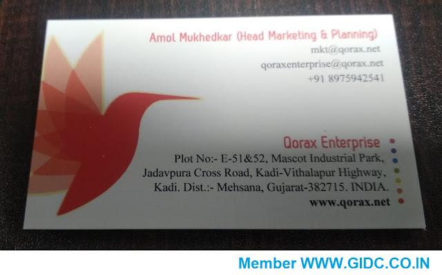 QORAX ENTERPRISE - 8975942541