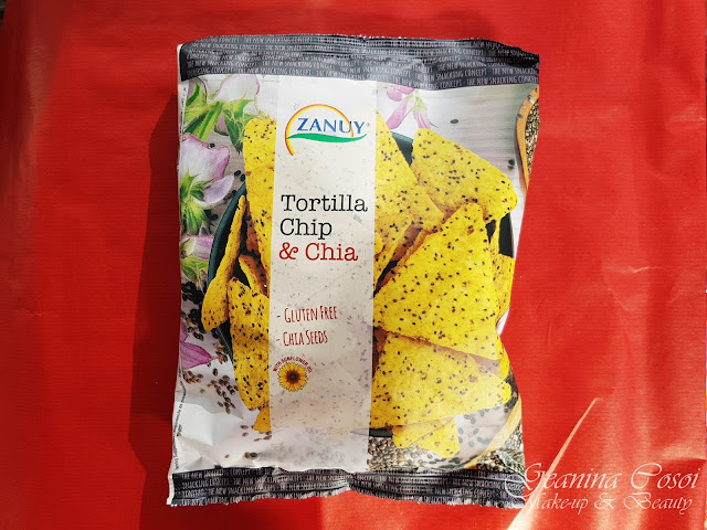 Tortillas de trigo con chia Zanuy Degustabox Noviembre - Especial Navidad