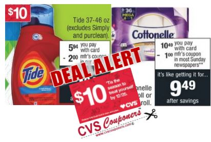 tide detergent cvs couponers deal