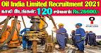 Oil India Recruitment 2021 120 Junior Assistant Posts