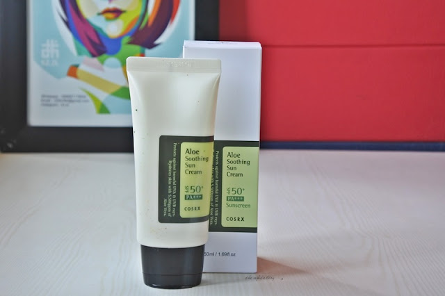 COSRX Aloe Shooting Sun Cream SPF 50+ PA +++