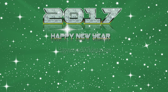 Happy New Year 2017 1080p Sparkling Background