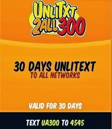 TNT 30 Days Unli Text To All Networks Promo: UA300 - TalknText PH