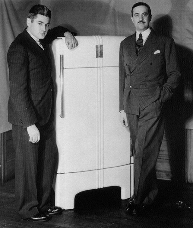 raymond loewy designed refrigerator