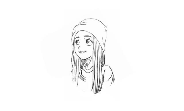 chicas tumblr cute para dibujar facil