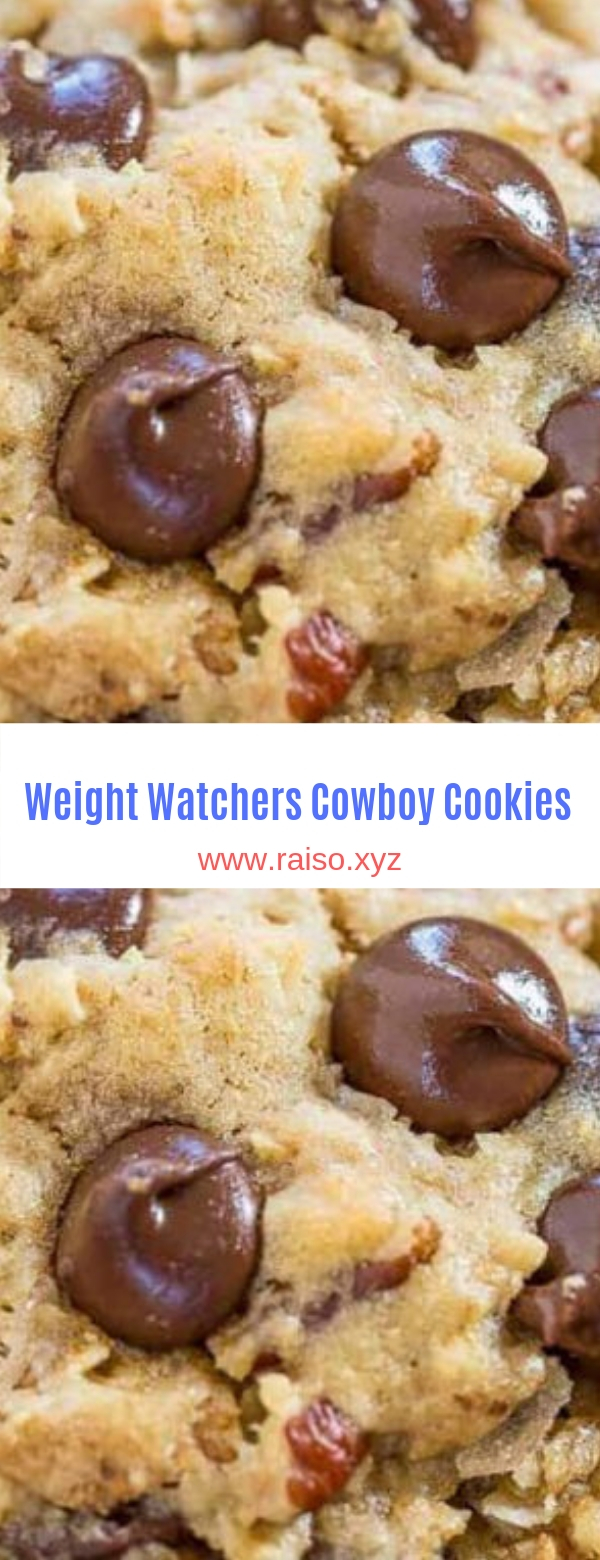 Weight Watchers Cowboy Cookies
