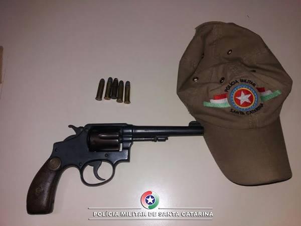 Homem tenta se matar com arma de fogo em Canoinhas