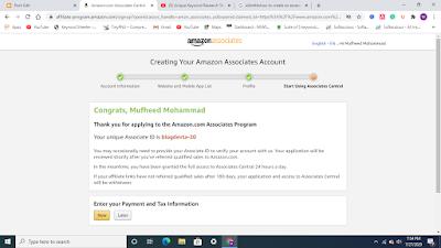 amazon product affiliate link