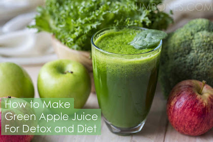 How to Make Green Apple Juice for Detox and Diet
