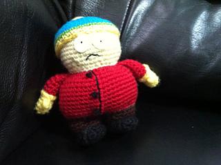Cartman free crochet pattern