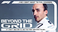 Robert Kubica podcast wywiad Beyond the grid