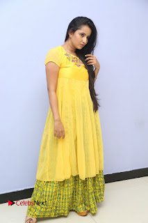Ishika Singh Pictures in Yellow Dress at Kobbari Matta Teaser Launch ~ Bollywood and South Indian Cinema Actress Exclusive Picture Galleries