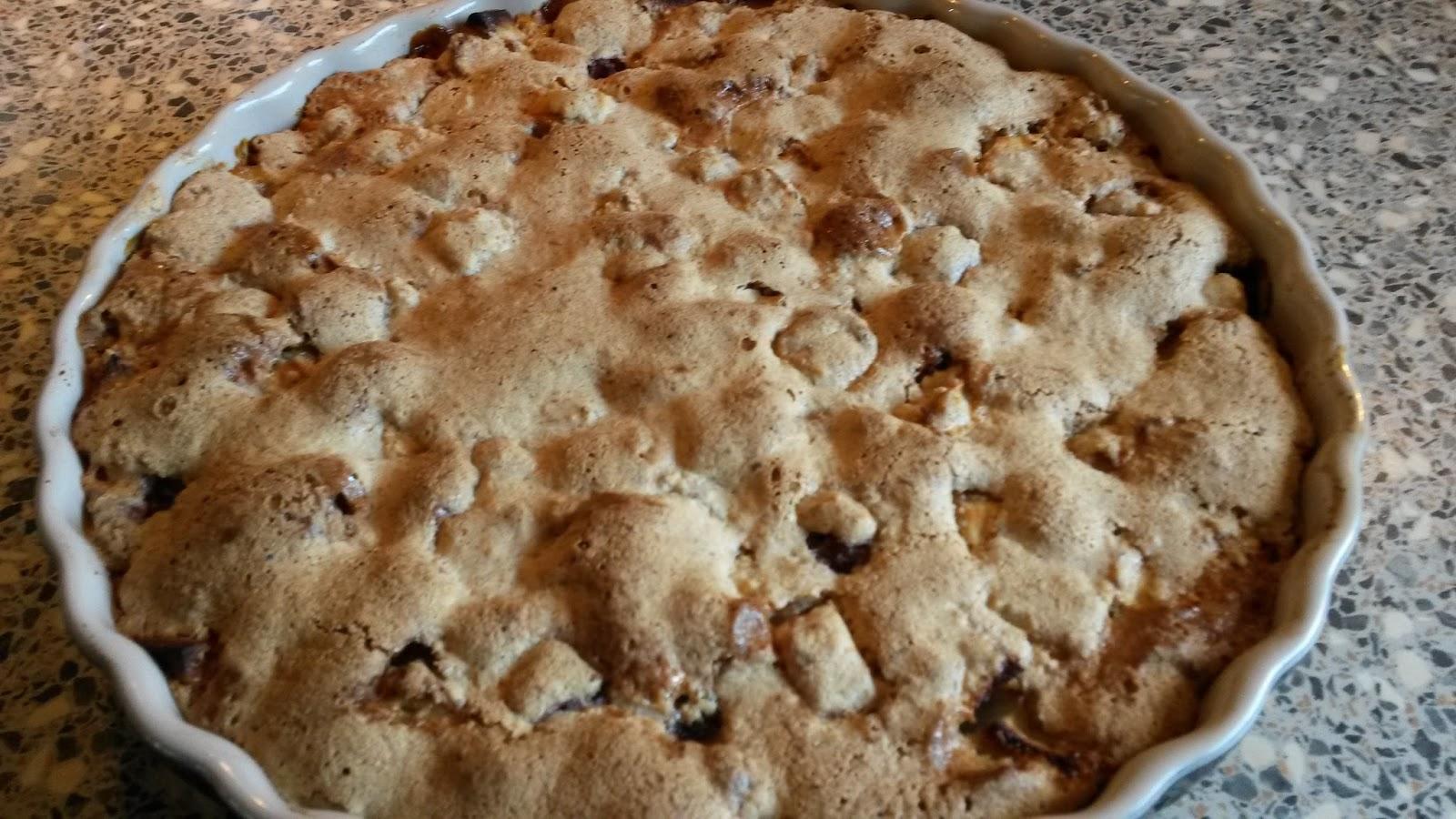 Miss Mocca: Æbletærte uden smør og mel