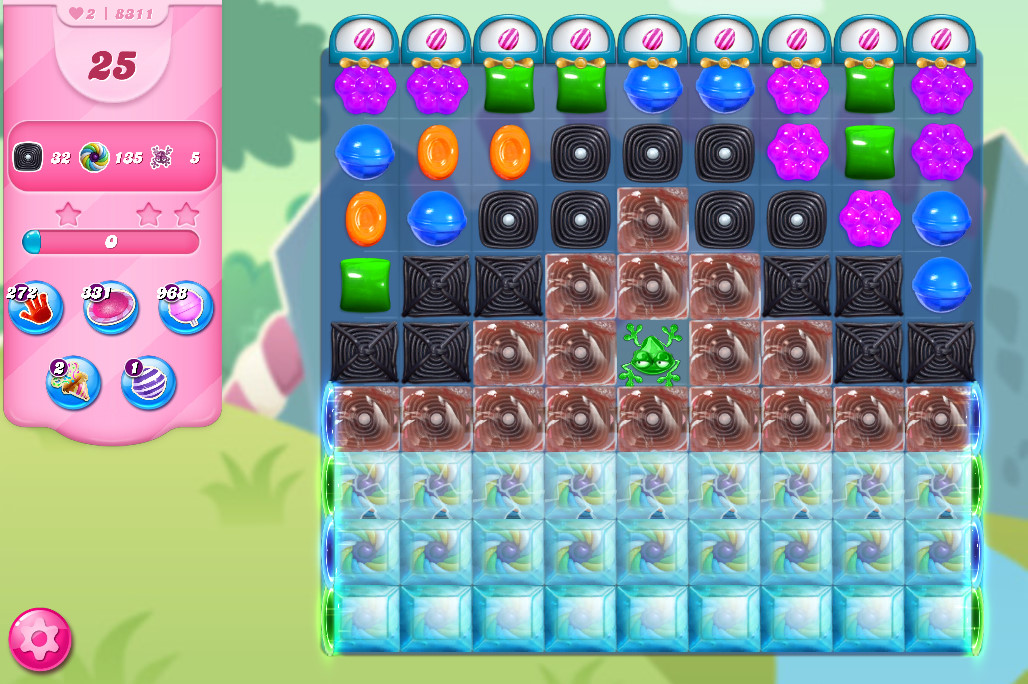 Candy Crush Saga level 8311