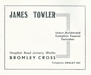 James Towler, Joiner, Bromley Cross