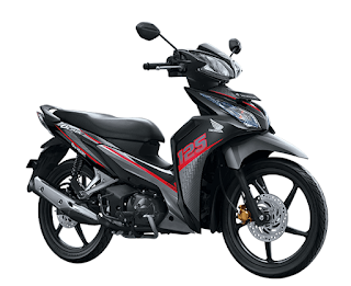 Honda Blade 125 FI Winning Red terbaru