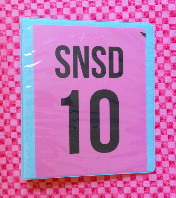 Girls' Generation DIY Binder Cover