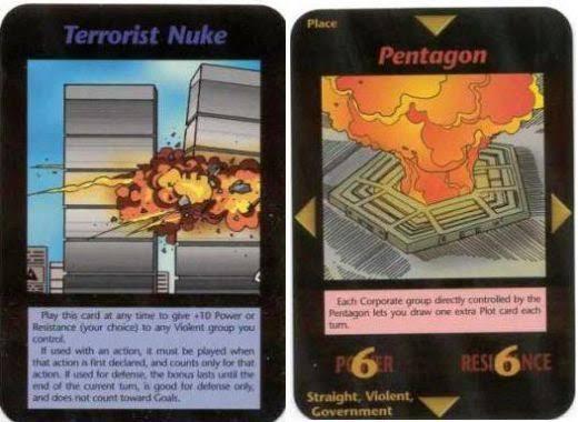 """O jogo de cartas Illuminati: New World Order previu não só o """"atentado"""" de 11 de setembro, como diversos outros acontecimentos trágicos."""