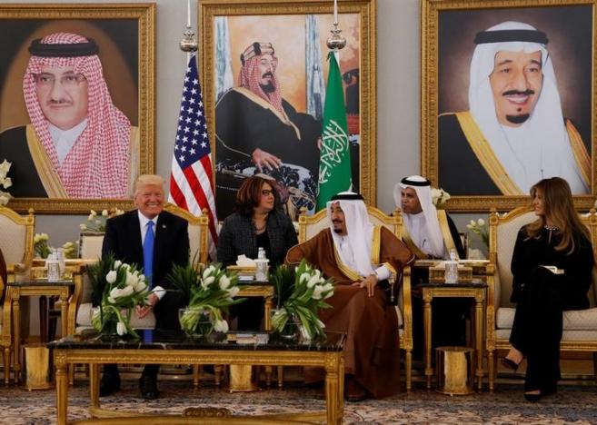 Under siege in Washington, Trump reaps Saudi arms deal, stronger ties