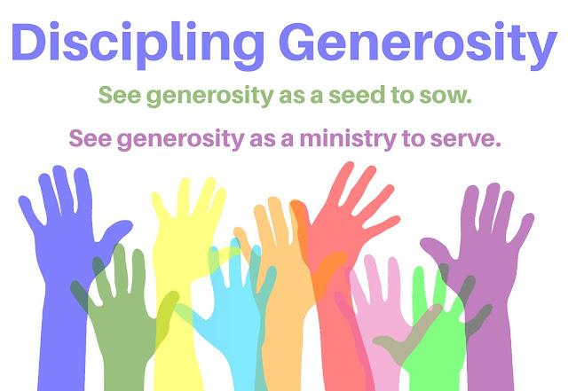 Discipling Generosity