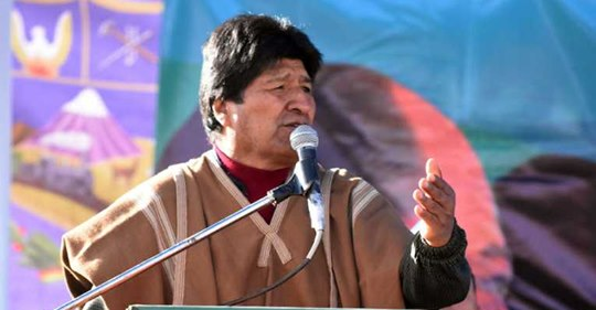 Evo: No quiero ser el mejor Presidente, quiero ser el Presidente de la mejor Bolivia