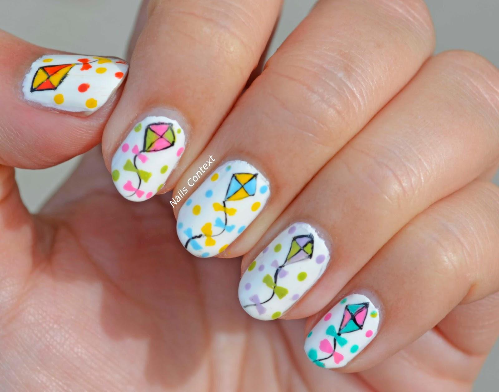 Nails Context: Happy Sankranti