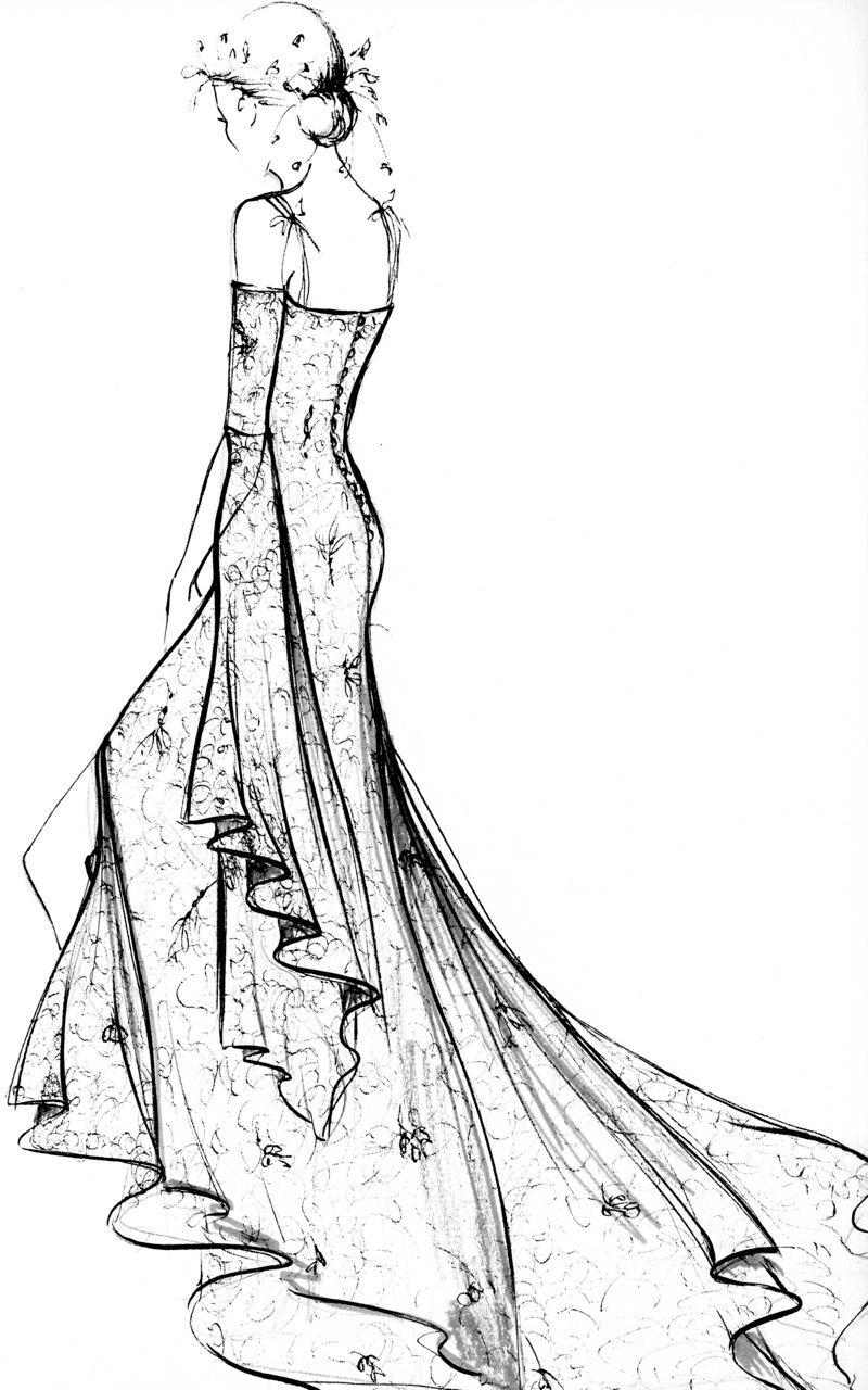 mannequin de couture dessin