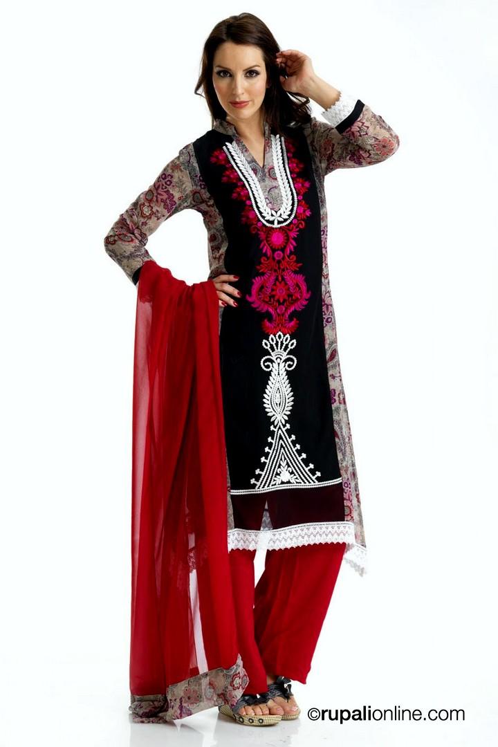 e260a47d5e Asian Trouser Suits Collection 2013 | Casual Salwar Kameez Collection 2013