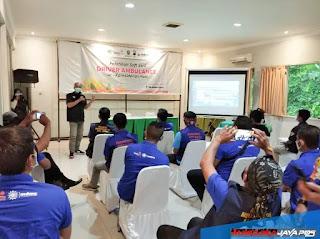 MDMC dan LAZISMU Beri Pelatihan Sopir Ambulance Se Karesidenan Pati