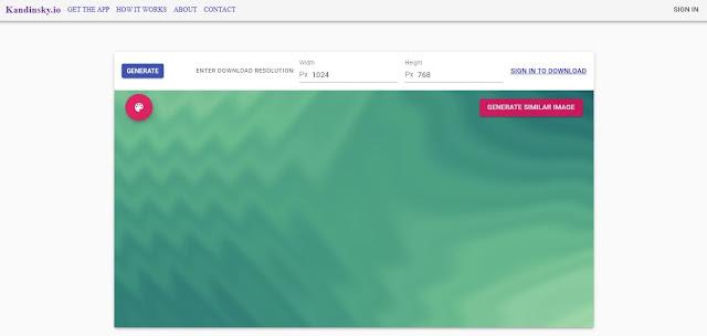 موقع يمكن من خلاله إنشاء خلفيات لكامل اجهزة