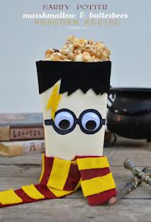 harry potter butter beer popcorn recipe