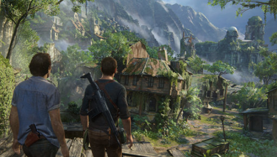 nath and sam together in uncharted 4