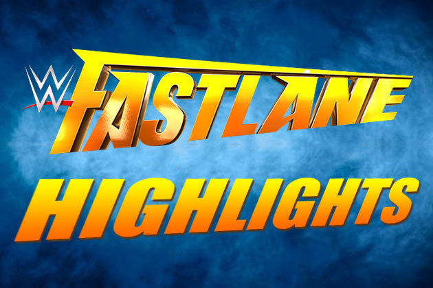 WWE Fastlane 2016 Match Results Highlights