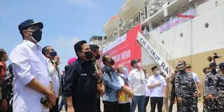 Dua menteri ke Belawan tinjau KM Bukit Raya sebagai tempat isot