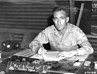 American soldier in Postwar Manila