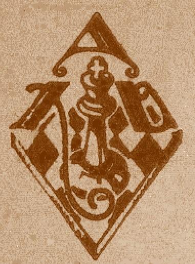 Emblema de la Agrupació d'Escacs Xac Doble