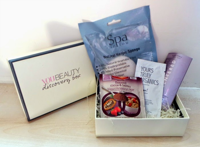 You beauty discovery box april 2015