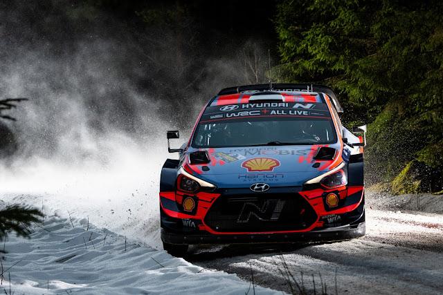 Hyundai i20 World Rally Car