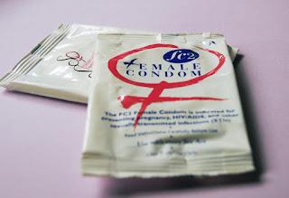Female condom in Hindi