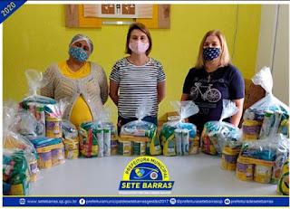 Fundo Social distribui alimentos doados pela Nestlé