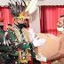 Kopassus Berikan Bantuan Pada Komunitas Papua Di Jakarta Terdampak COVID-19